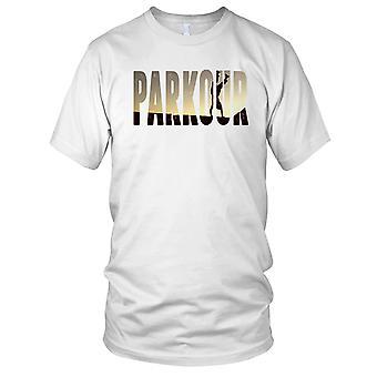 Parkour-Straße laufen Kinder T Shirt