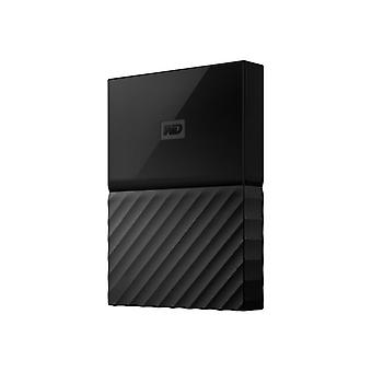 WD My Passport for Mac WDBP6A0040BBK-hard drive-encrypted-4 TB-external (portable)-USB 3.0-256 bit AES-black