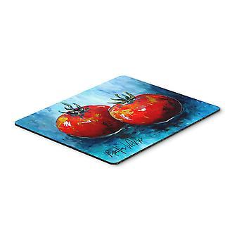 Carolines schatten MW1088MP groenten - tomaten, rode tenen muismat, hete Pad
