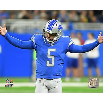 Matt Prater 2017 handling Photo Print