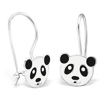 Panda - 925 Sterling Silver Earrings
