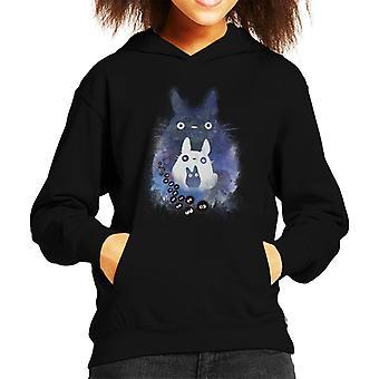 Totoro And Forest Spirit Friends Kid's Hooded Sweatshirt