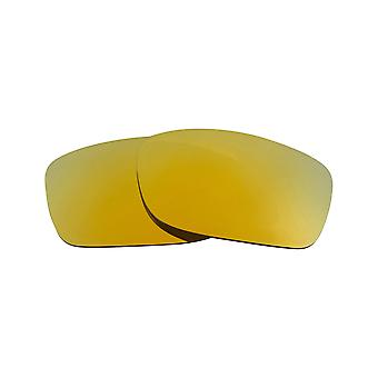 Best SEEK Replacement Lenses for Oakley Sunglasses FIVES SQUARED 24K Gold Mirror