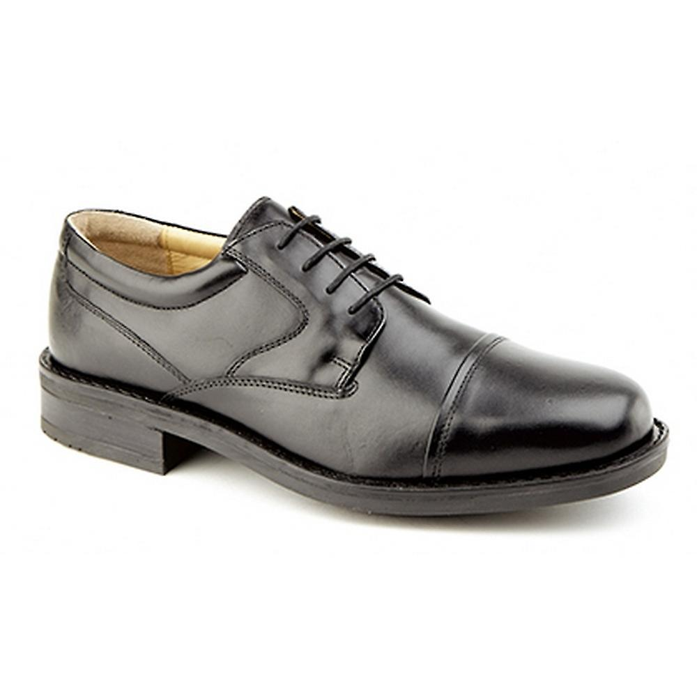 Mens Gibson Leather Plain Roamers Formal Capped Shoes Ux0qWvd