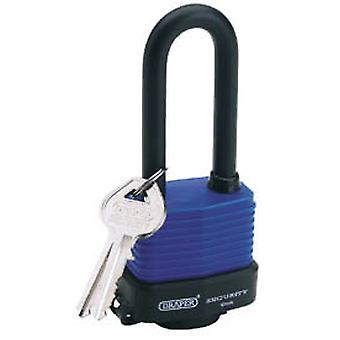 Draper 64177 45mm Laminated Steel Padlock With Extra Long Shackle