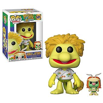 Funko 15044 Pop Vinyl Fraggle Rock Wembley med Doozer figur