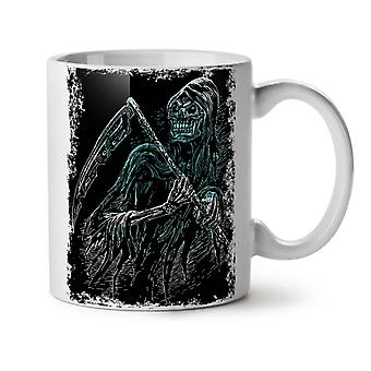 Reaper Killer Death NEW White Tea Coffee Ceramic Mug 11 oz | Wellcoda
