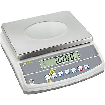 Table top scales Kern Weight range 12 kg Readability 0.1 g