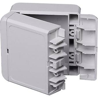 Wall-mount enclosure, Build-in casing 80 x 89 x 47 Acrylonitrile butadiene styrene