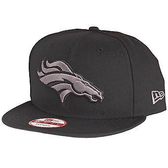New era 9Fifty Snapback Cap - Denver Broncos black / grey