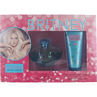 Britney Spears Curious 100ml Eau de Parfum Spray and 100ml Body Souffle Gift Set for Women