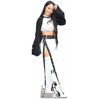 Rihanna White Boots Lifesize Cardboard Cutout / Standee / Standup
