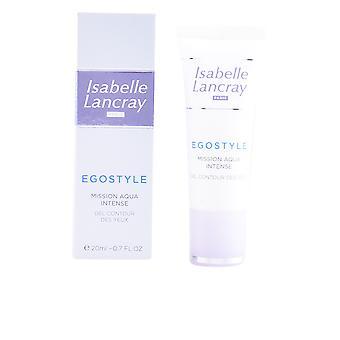 Isabelle Lancray Egostyle missie Aqua intens Gel Contour Des Yeux 20 Ml voor vrouwen
