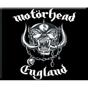 Motorhead Fridge Magnet England lemmy warpig new Official 76mm x 76mm