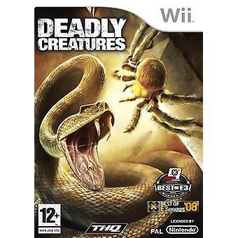 Dodelijke wezens (Wii)