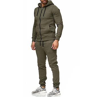 Tazzio fashion men's tracksuit khaki