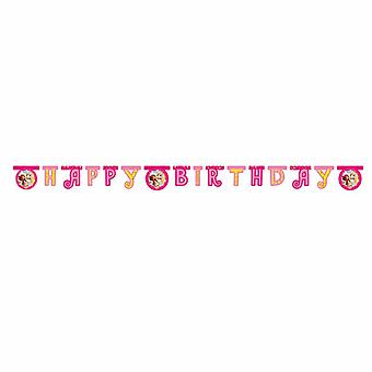 MIA & me Elf Unicorn party Garland banner 1 piece children birthday theme party