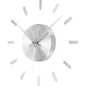 Renkforce HD-WRC152 DCF SI Radio Wall clock 350 mm Silver