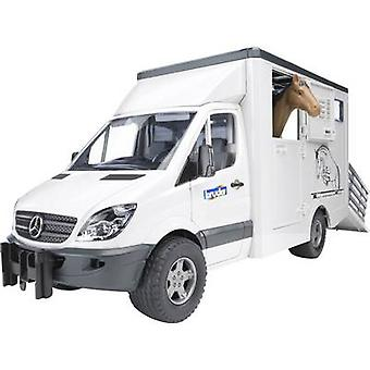 Brother Mercedes Benz Sprinter animal transporter including 1 horse