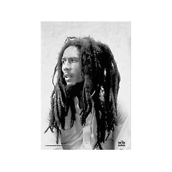 Bob Marley Dreadlocks Large Textile Poster 1100Mm X 700Mm