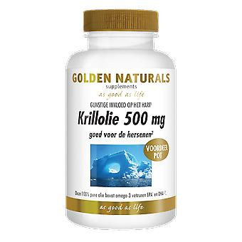 Golden Naturals Krillolie 500 mg (180 softgel capsules)