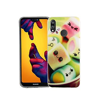 Mobile Shell voor Huawei P20 Lite marshmallows Smartphone cover bumper shell gevallen