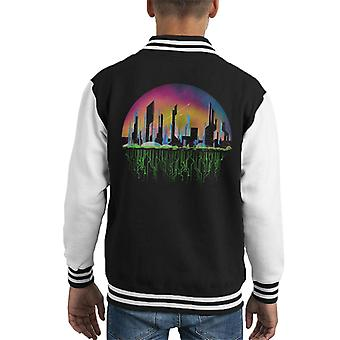 Bioshock Rapture City Of Tomorrow Kid's Varsity Jacket