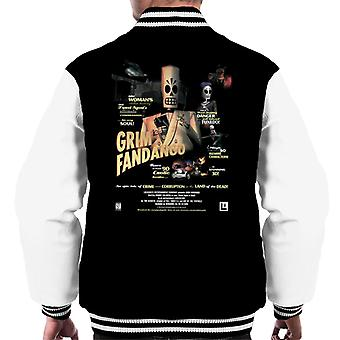 Grim Fandango Cover menn Varsity jakke