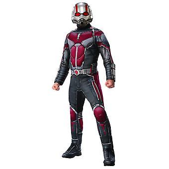 MARVEL, человек-муравей ATW Делюкс костюм мужской Хэллоуин карнавальных Ant человек супер герой