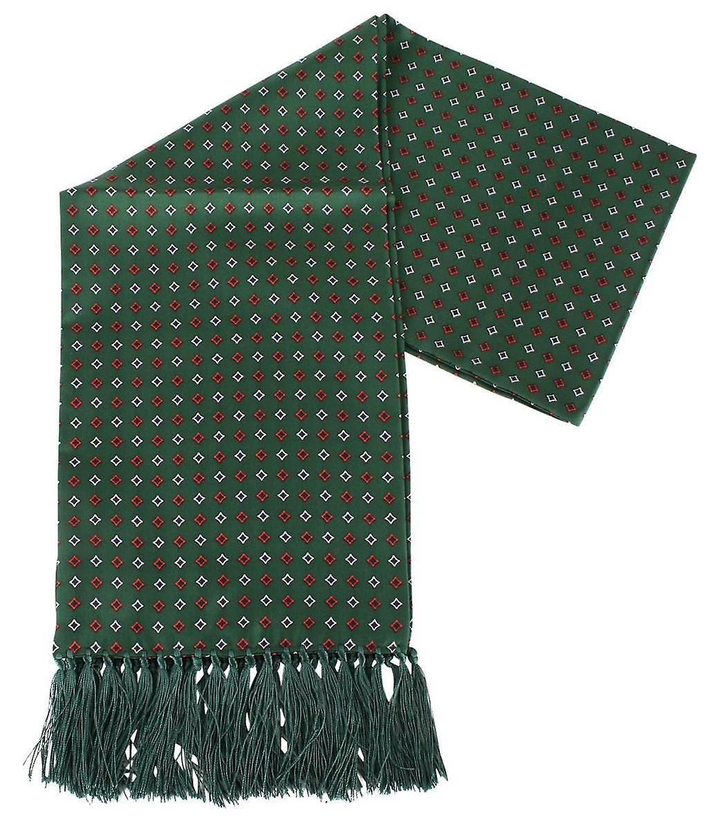 Knightsbridge cravates Diamond Aviator Silk Svoituref - vert