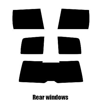 Pre gesneden venster tint - VW Polo Estate - 1998 tot en met 2004 - achterzijde windows