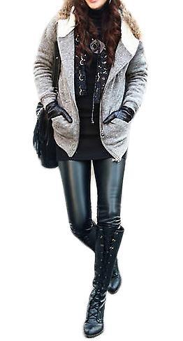 Waooh - Fashion - Art-Leder Legging