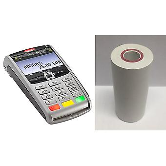 TH57-25CL Thermal till Rolls/credit card machine Rolls/PDQ Rolls-20 rollen per doos-doos van 20 rollen