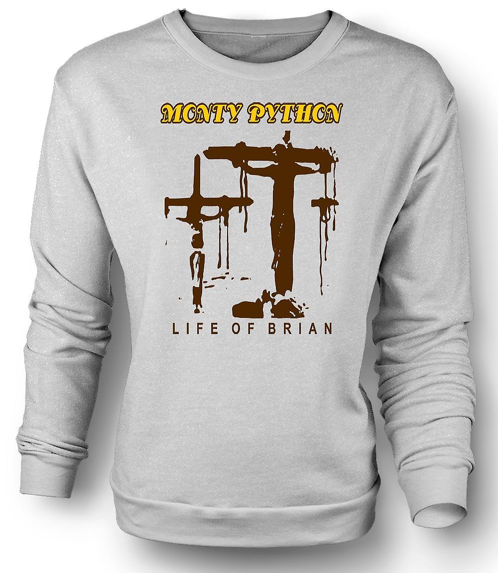 Mens Sweatshirt Monty Python Brian Crucifixion - Funny