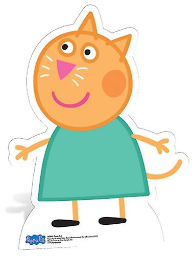 Candy Cat Lifesize Cardboard Cutout / Standee - Peppa Pig