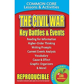 The Civil War: Key Battles and Events: Common Core Lessons & Activities