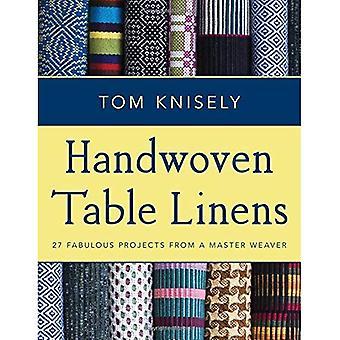 Handvävda borddukar: 27 utmärkt projekt från en Master vävare