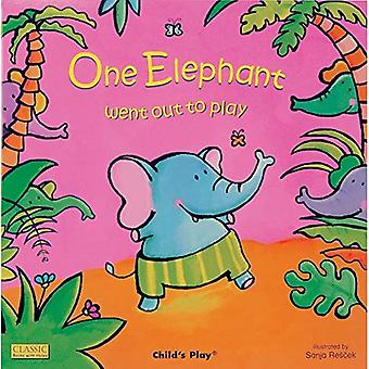 One Elephant Went Out to Play (Classic Books with Holes) (Classic Books with Holes)
