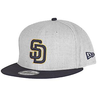 New era 9Fifty Snapback Cap - grey HEATHER San Diego Padres