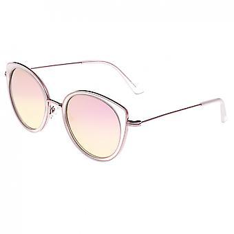 Bertha Sasha Polarized Sunglasses - Pink/Rose Gold