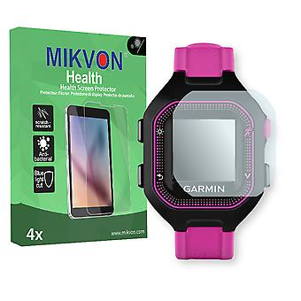 Garmin Forerunner 25 S Screen Protector - Mikvon Health (Retail Package with accessories) (reduced foil)