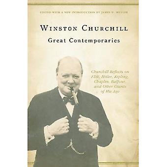 Bra samtidor: Churchill reflekterar över FDR, Hitler, Kipling, Chaplin, Balfour och andra jättar för sin ålder