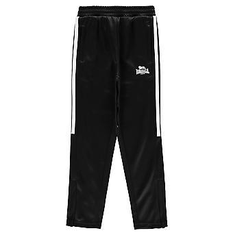 c00d4dcd3b Sale Lonsdale Boys 2 Stripe Taped Pants Junior Kids