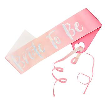Bride to be Hen Party Sash - Bride Tribe