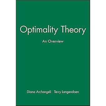 Optimality Theory by Archangeli & Diana B.