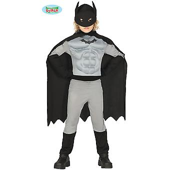 Dziecięce stroje karnawalowe Bat Superhero kostium