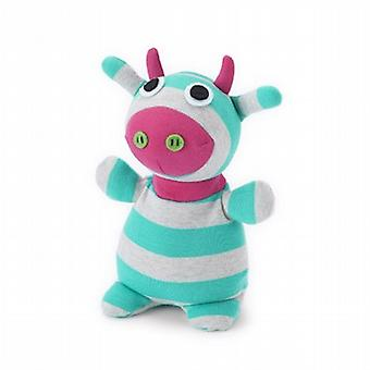 Intelex Socky Doll Fully Microwavable Toy: Diddly Cow