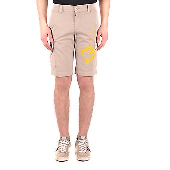 Mason's Beige Cotton Shorts