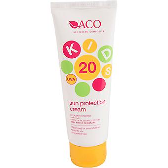 ACO Kids Sun Protection Cream SPF 20 125ml