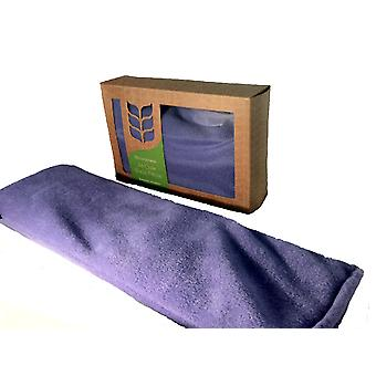 Deluxe Fleece Soothing Lavender Wheat Bag: Lilac